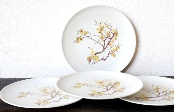Like this item? & Mod White Dinner Plates Texas Ware Melmac Melamine Dishes