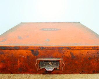 Vintage United Service Motors Storage Box