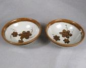 Ken Edwards, El Palomar, Veracruz, pair fruit bowls, rare, 60s