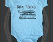 Mix Tape - vintage retro cassette music tape Infant Baby One-piece, Infant Tee, Toddler T-Shirt