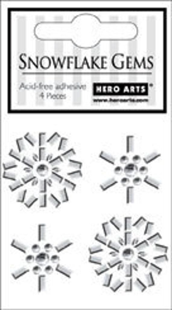 Hero Arts Snowflake Gems CH192