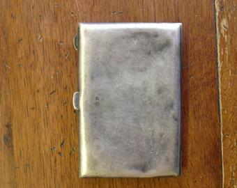 Very old vintage Sterling Silver Business Card Holder