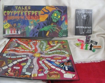 Vintage ULTRA RARE Tales from the Cryptkeeper Board Game