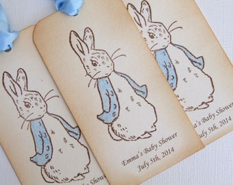 Peter rabbit tags | Etsy