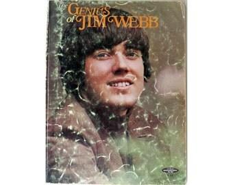 The Genius of Jim Webb Sheet  Music 1996
