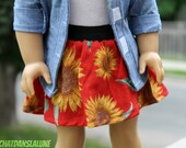 Sunflowers - Summer Skirt