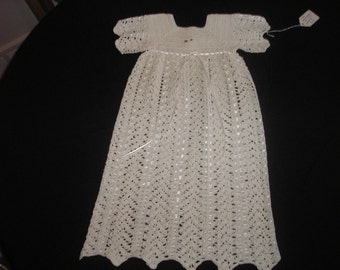 White Christening Gown and Booties / Baptism / Photos / Special