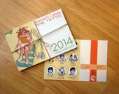 Roller Derby Desk Calendar Comic  - Bonnie N. Collide