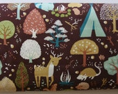 Organic Critter Camp by Designer Teagan White - Fort Firefly Collection from Birch Fabrics - ONE FAT QUARTER Cut