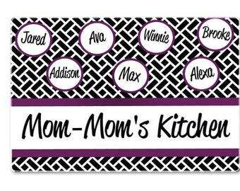 Cutting Boards - Family Cutting Boards - Glass Cutting Boards - Personalized Cutting Boards - Great Gift Idea