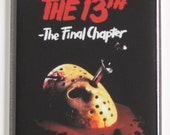Friday the 13th Part 4 Movie Poster Fridge Magnet