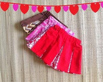 Girl's Skirt Pattern, Toddler Skirt Pattern, Abigail Box- Pleated Skirt, Pettiskirt, 12 Months to 10 Years
