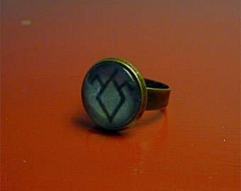 TWIN PEAKS Black Lodge Ring