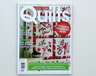 Down Under Quilts Patchwork Magazine Issue 149, August/September 2011