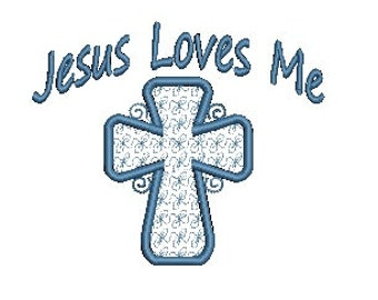 Cross Embroidery Design, Jesus Design, Machine Embroidery Design (521) Instant Download