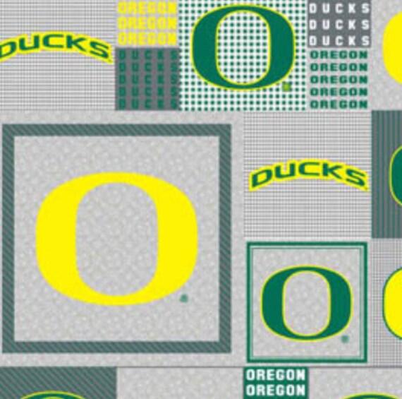 Oregon Duck Grey All Over Fleece