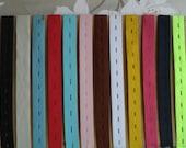 19 mm 3/4 Inch Button hole Elastic Strap FinishTape Dress Making Trouser Sewing x 2 Yard length