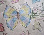 Yummy Spring Butterfly Cotton Fabric