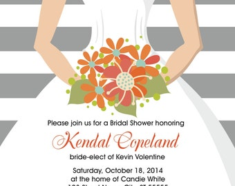 Bridal Shower Invitation (PDF)