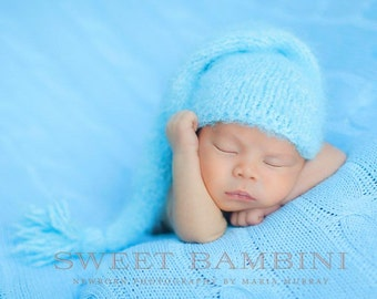 Snuggle Soft Stocking Hat Newborn Photography Prop