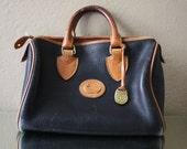 RARE Vintage Original Dooney and Bourke Leather Doctor Bag 1981-1982