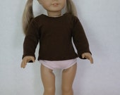 Doll long-sleeve t-shirt in Brown