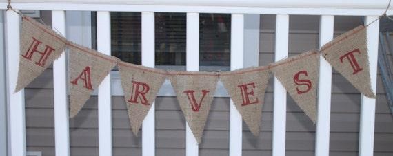 Harvest banner for Alyssa