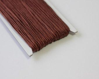 5.5 yards  brown Soutache Braid, Passementerie Braid, embroidery, Soutache cord, Passementerie cord Trim, gimp cord, russian braid
