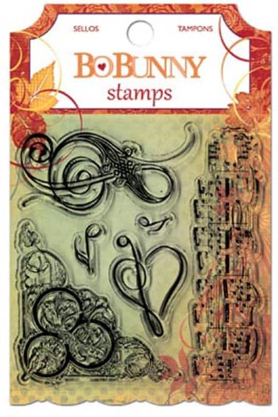 Bo Bunny - Autumn Song - Stamp Set