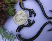 FAUX GUAGED RATTLESNAKE plugs.  Transmutational medicine.   Free shipping and Gift Box included.