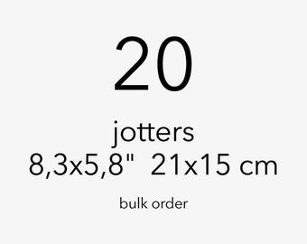 Bulk order 20 jotters notebook sketchbook a5 size 30% discount
