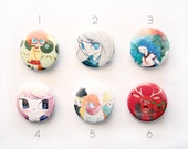 Cute badges - 25mm size