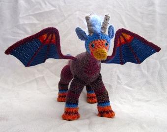 Amigurumi Scrap Dragon - Tropical Clubtail