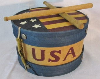 Boyd's Stars & Stripes Large Drum