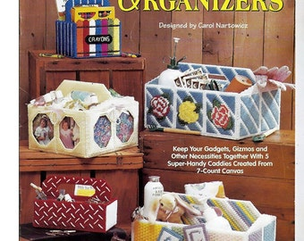 Handy Organizers Plastic Canvas Pattern Book The Needlecraft Shop 963384