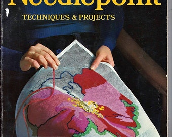Needlepoint Techniques & Projects  A Sunset Pattern Book 458