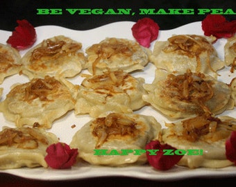 Vegan red bean pierogies, natural,healthy,lunch,dinnger,snack,wedding.
