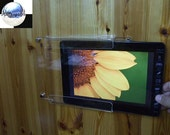 Acrylic Wall Hanging Holder Display Mount for 10 inches Tablets