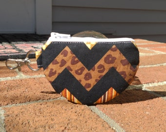 Mini Pouch, Earbud Pouch, One of a Kind