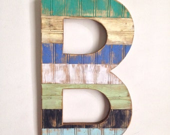 Custom Painted and Distressed Letters
