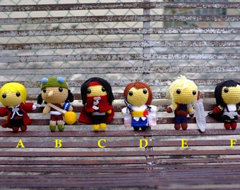 Made to Order(FINISHED DOLL): Choose any 1 - FF/One Piece/Fullmetal
