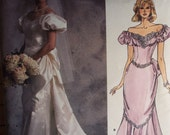 Very Vogue Beautiful Bridal Gown Pattern 1828