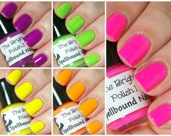 MINI The Brights - Neon Creme Collection Nail Polish
