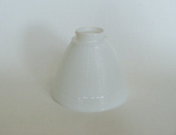 Replacement Glass Light Shades For Light Fixtures: Glass Lamp Shade White Milk Glass Light Fixture Lighting
