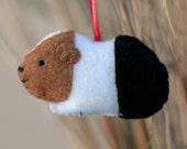 Cute Felt Guinea Pig Ornament