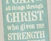 """Philippians 4:13 """"I can do all things through Christ..."""" JPEG Download Pack!"""