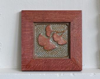 Framed 6x 6 tile by Fay Jones Day