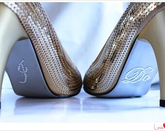 I DO Shoe Sticker for Bridal Shoes, Something Blue Rhinestone I Do Bridal Shoes Sticker,  I Do Shoe Applique, Crystal I Do Sticker Applique