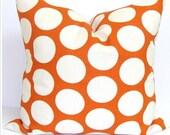 ORANGE PILLOWS, BURNT Orange Pillow Covers, Decorative Pillow, Orange Throw Pillow, Orange Pillow, Fall Accent Pillow, All Sizes, Cushion