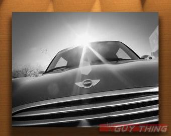 Mini Cooper Car Photograph, Boyfriend Gift, Mini Car Art, BMW, Car Picture, Automotive Art, 5x7, 8x10, 11x14, 16x20, Murray Bolesta